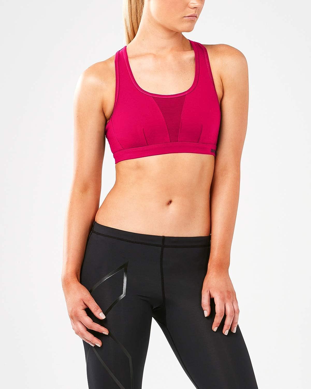 2XU X Vent Womens Sports Bra  Pink