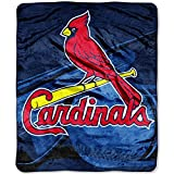MLB St. Louis Cardinals 'Big Stick' Raschel Throw Blanket, 50' x 60'
