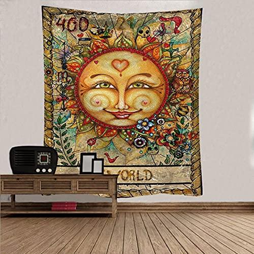 NTtie Tapiz, decoración de Dormitorio, Alfombrilla para Yoga, Toalla para Playa, Paño Colgante Tapiz Decorativo Dormitorio Tela de Fondo