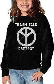 Toddler/Kids TRASH TALK Band Logo Long Sleeve Pullover