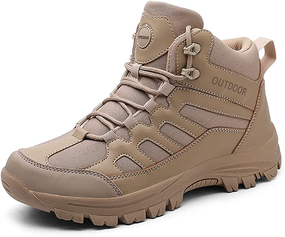 YING LAN Men's Tactical Military Mid Outdoor Outlet SALE 2021 autumn and winter new Trekkin Hiking Boot