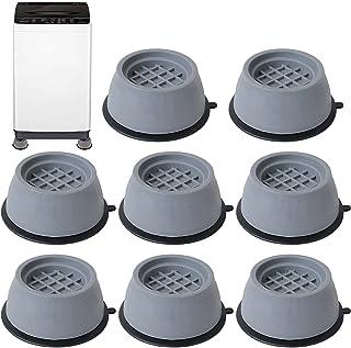 Amortisseur de pied de machine à laver 8 pièces machine à laver étanche à l'humidité antichoc antidérapant tapis en caoutc...
