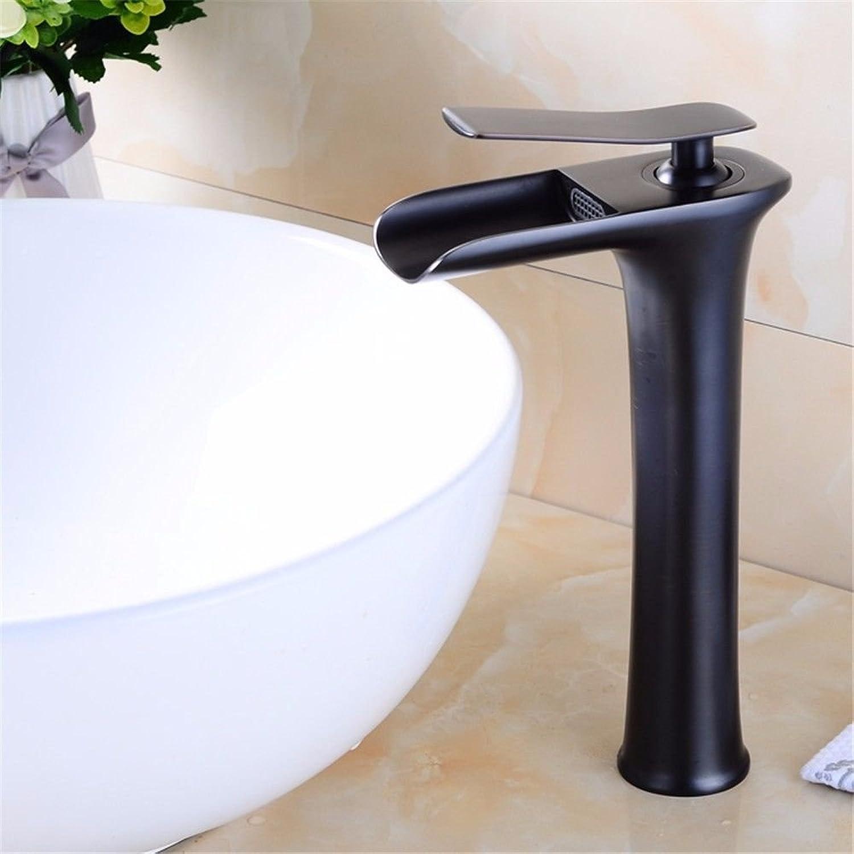 AQMMi Wasserhahn Wasserfall Armatur Waschtischarmaturen Retro Bad Armatur Für Badezimmer Waschbecken