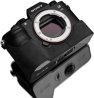GARIZ SONY α9/α7R III/α7 III 兼用 Alcantara カメラケース AT-CHA7M3CG チャコールグレー