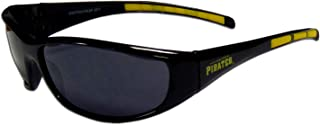 MLB Pittsburgh Pirates 3-Dot Wrap Sunglasses