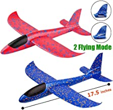 The Flyer's Bay Flying Glider Foam Planes Pack of 3 | Flying Toy for Kids, Outdoor Sport Toys, Birthday Gift for Kids, 3 4 5 6 7-Year-Old Boy