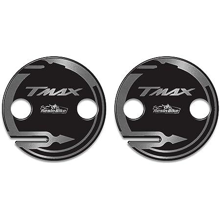 Adhesivos Cárter Cambiador Compatible para Tmax 530 Y Tmax 500 Modelo 2001/16 - Adhesivo Moto 3D Ultra Resistente - Adhesivos para Moto - Colores: Blanco - Rojo - Oro - Plata - Plata