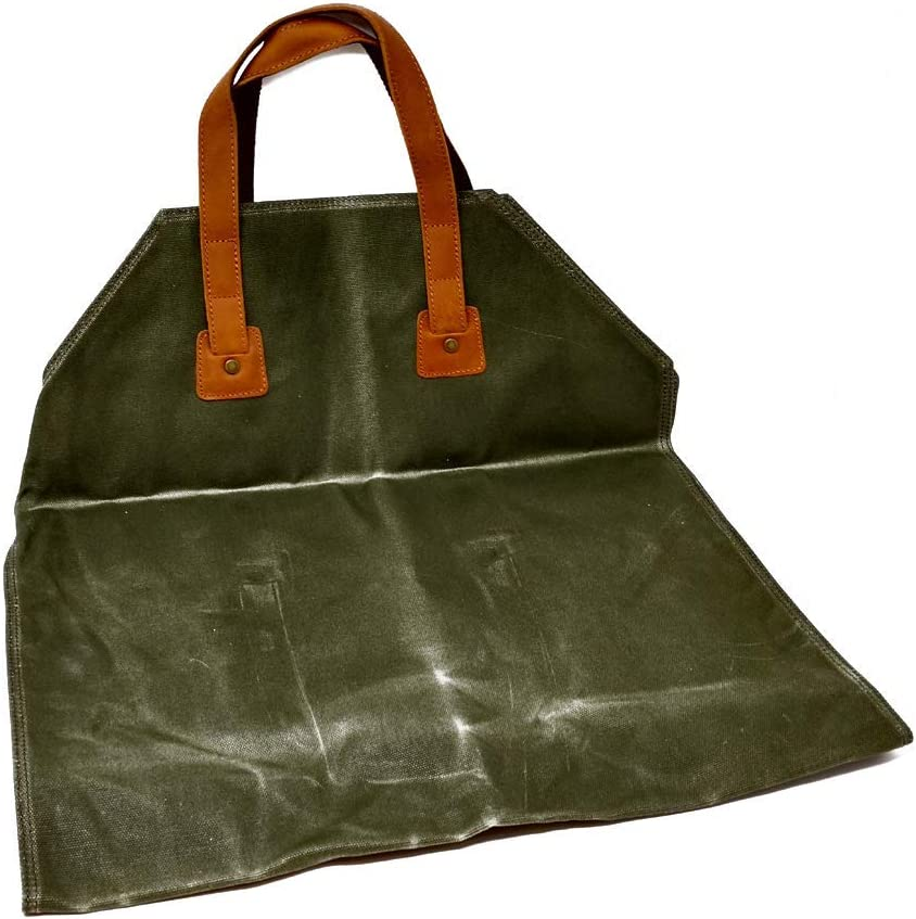 Industry No. 1 In a popularity BATTLBOX Waxed Canvas Log Carrier Tote Bag Rugged Fire-W Twill -