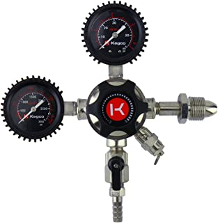 Kegco LHU5N Elite Series Dual Gauge Nitrogen Draft Beer Regulator