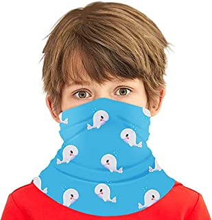Simayixx Neck Gaiter Bandana Face Cover Shield for Dust Wind UV Sun Protection Cycling Kids Multifunctional Scarf