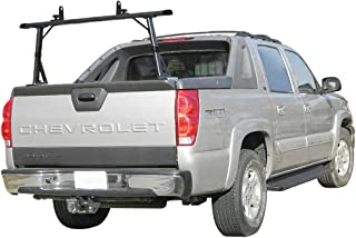 Vantech 1 bar Ladder Rack with Side Supports for Cadillac Escalade EXT & Chevy Avalanche 2002-16 Black