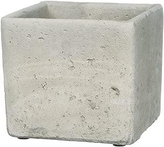 Sullivans Grey Cement Rectangular Planter (5