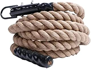 Climbing Rope Jute Exercise Rope Fitness Rope For Fitness And Strength Training, Strength,Excellent Shock Absorption For T...