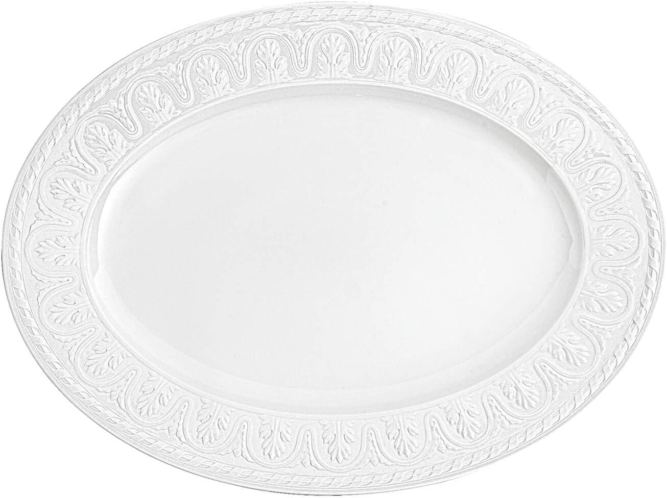 Cellini Oval Serving Platter by Villeroy Charlotte Mall Boch Porcel 5 ☆ very popular - Premium