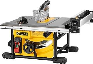 DEWALT DEWDWE7485 DWE7485 Compact Table Saw 250mm 240v, 240 V, Yellow/Black