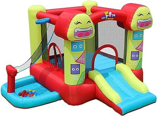 Aufblasbare Rutsche Kinderspiele Aufblasbares Schloss Kinder Spielzeug Für Innen- Und Au spielpl e Indoor-Kinderspielzaun Kindertrampolin Spielplatz Fitnessger