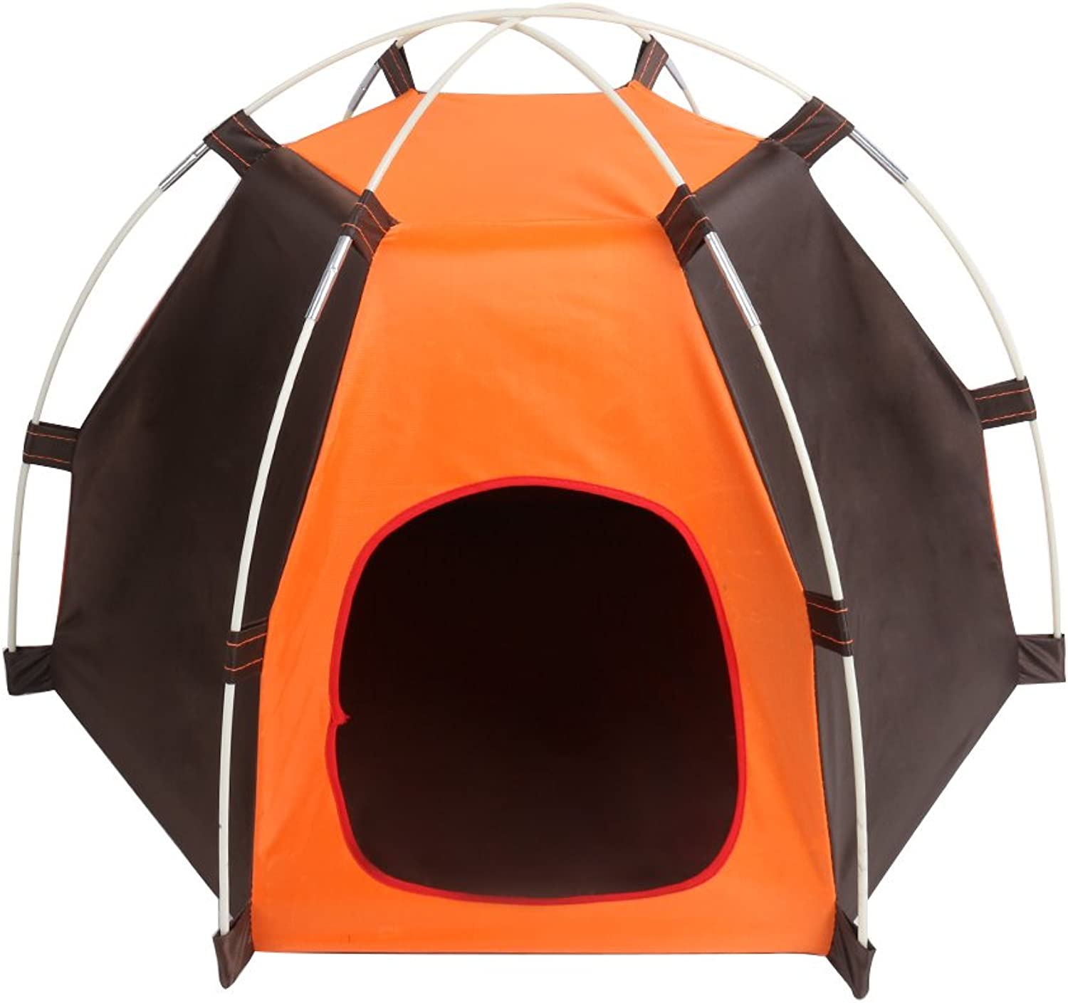 Pets Tent ,Portable Folding Dogs Cats House ,Waterproof and Windproof Outdoor indoor Camping pet bed, easy to clean