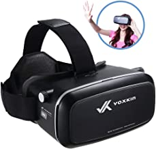 Virtual Reality Headset 3D VR Glasses by Voxkin – High Definition Optical Lens, Fully Adjustable Strap, Focal and Object Distance – Perfect VR Headset for iPhone, Samsung and any Phones 3.5