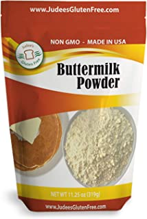 Judee's Buttermilk Powder (11.25 Oz): Non-GMO - Hormone Free - USA Produced (1.5 lb-24 oz value size available also)