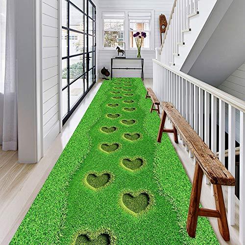 CNNRug Vitality tapijtloper lang, wasbaar, antislip, voor keuken/trap 0.8m*3m E