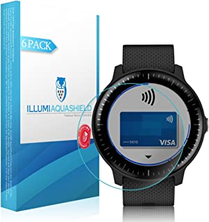 ILLUMI AquaShield Screen Protector Compatible with Garmin Vivoactive 3 Music (6-Pack)(Full Coverage) No-Bubble High Defini...