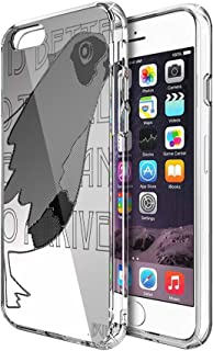 Case Phone Anti-Scratch Cover Creature Animal The Halftone Bird Animals (4.7-inch Diagonal Compatible with iPhone 6, iPhone 6s)
