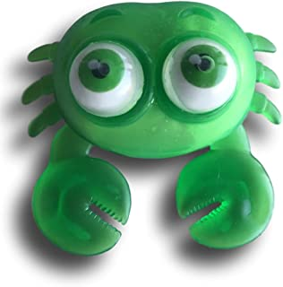 Warehouse 151 Squishy Stretchy Squeeze Stress Office Desk Toy (Crab, Green)