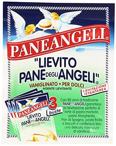 Paneangeli - 'Lievito Pane degli Angeli', Vaniglinato, per Dolci, Lievitazione Istantanea , 48 g