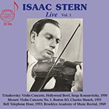 Isaac Stern Live, Vol. 1