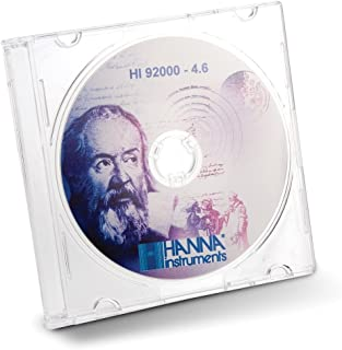 Hanna Instruments HI92000 Windows Compatible Software, For Logging Instrument and Photometer