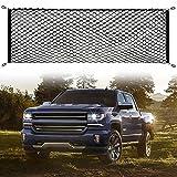AndyGo Cargo Net Truck Bed Envelope Style Trunk Cargo Organizer Fit for Chevy Silverado Colorado GMC Sierra