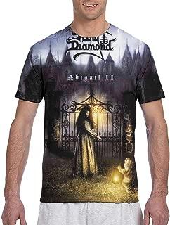 DenverHurst King Diamond Abigail Men's Crew Neck Casual Short Sleeve Tee Shirt