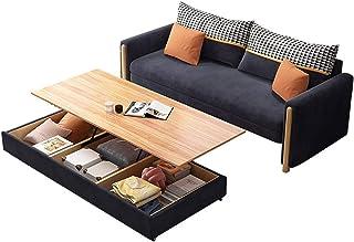 HLZY Divano Letto Sleeper Convertible Lounge Couch futo Divano Letto Pieghevole di Alta qualità, Divano Letto con Materass...