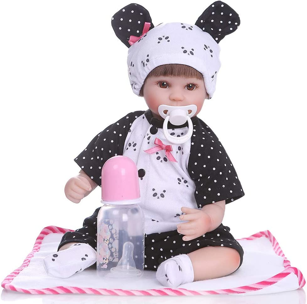 YIHANGG Courier shipping free Cute Reborn Limited time sale Baby Doll Soft 40cm Silicone Toddler Newborn