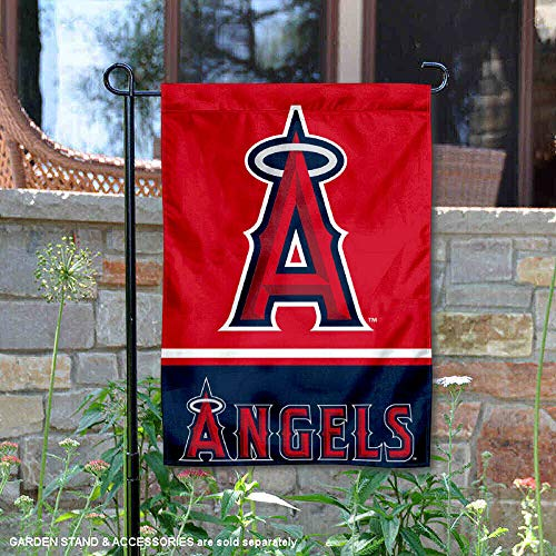 WinCraft Los Angeles Angels Double Sided Garden Flag
