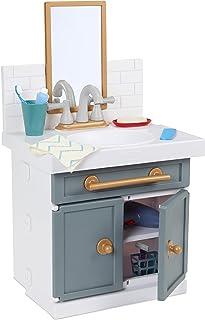 Little Tikes اولین حمام حمام با شیر آب کار واقعی وانمود می کند بازی برای کودکان ، 12 لوازم حمام ، اسباب بازی منحصر به فرد چند رنگ ، سنین 2