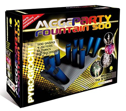 Pyrogiochi MEGAPARTY Fountain 500 per Feste