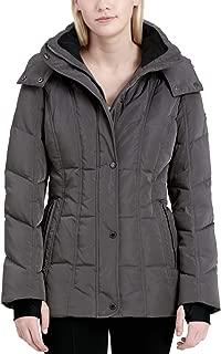 Women's Hooded Puffer Coat Titan Medium
