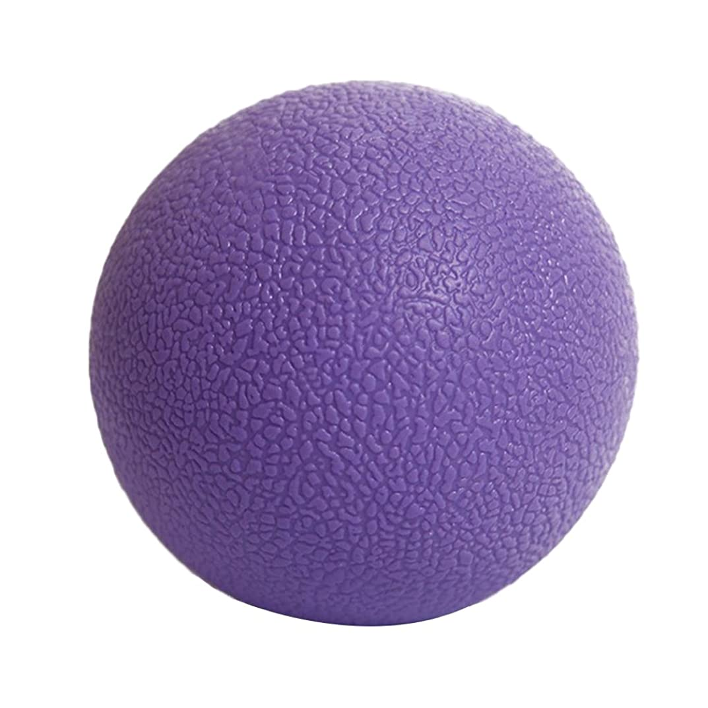 ウール真実に柔らかい足Kesoto マッサージボール ジムフィットネス 筋肉マッサージ ボール トリガーポイント 4色選べる - 紫