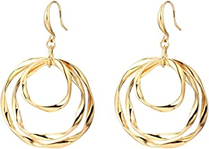 Best rose gold drop earrings australia Reviews
