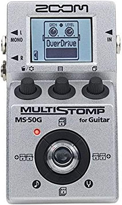 Zoom MS-50G MultiStomp Guitar Effects Pedal