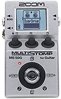 Zoom MS-50G MultiStomp Guitar Effects Pedal, Single...
