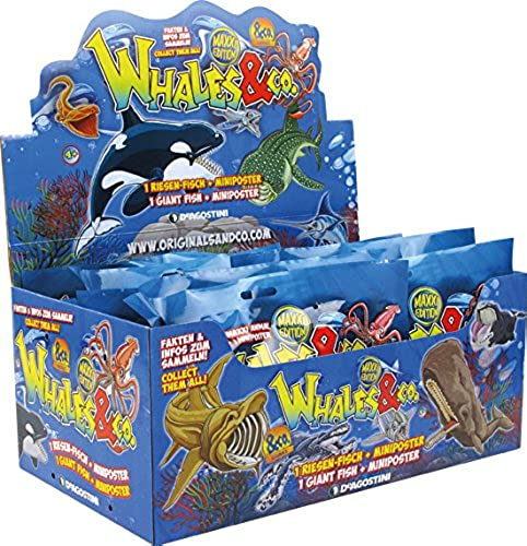 DeAgostini Whales & Co 3D-Tüten - Sammelfiguren - 1 Display (16 Tüten)