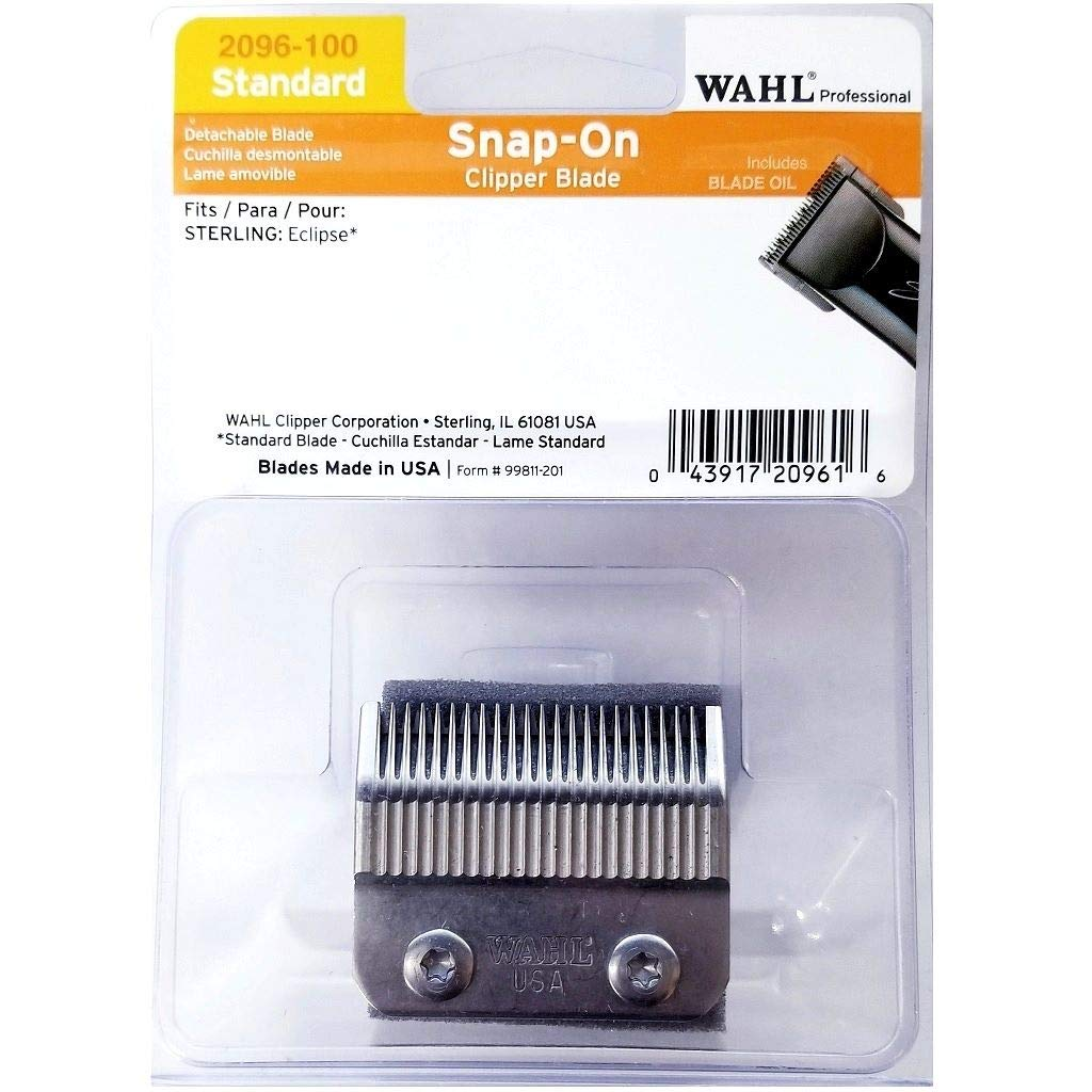 Wahl Snap-On Clipper depot Blade Standard for Eclipse Sterling 100% quality warranty! #2096-1