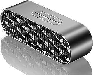 PTron Mojo Bluetooth Speaker 10W Wireless Mini Speaker Portable Bluetooth Dual BT Speaker with Mic (Grey)