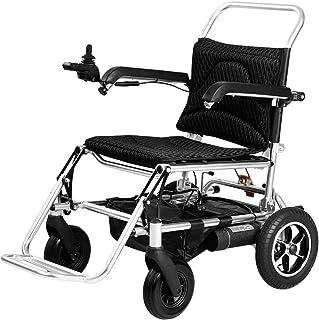 De peso ligero plegable sillas de ruedas eléctrica Silla de ruedas, sillas de ruedas Travel 2020 Fold Ligera Energía Eléctrica Vespa, Aviación Viaje Seguro Silla de ruedas eléctrica, inteligente portá