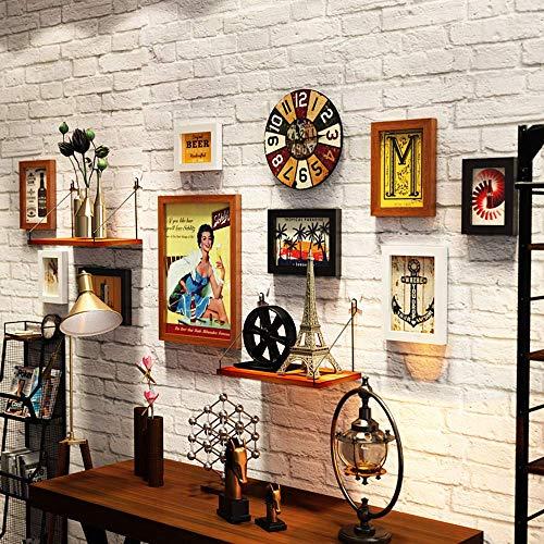 9 Stück Collage Bilderrahmen Multi Pack Fotorahmen Set Wandgalerie Kit, DREI 11,3 x 15,2 cm, fünf 15,2 x 20,3 cm, eine 27,7 x 37,7 cm