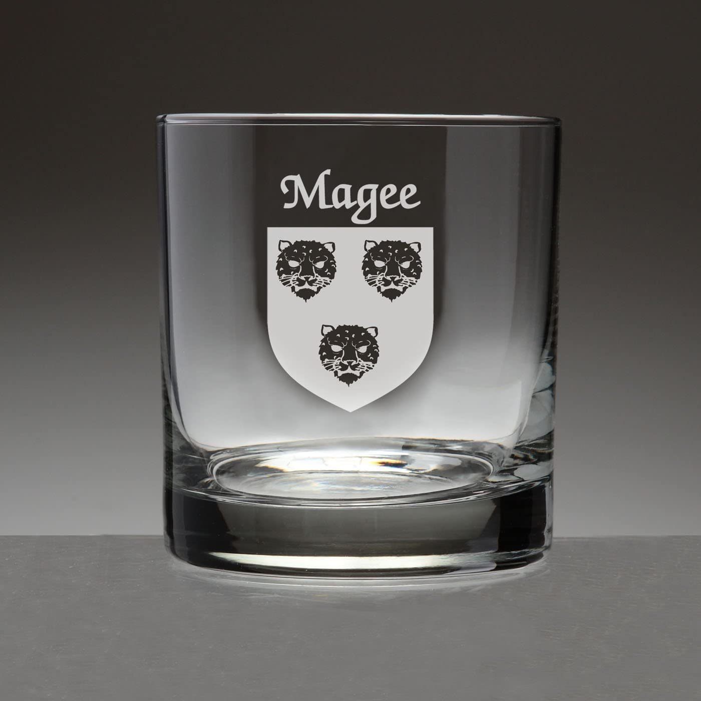 Magee Irish Coat of Arms Tumbler 4 - Sand Glasses Set Ranking TOP11 Etched Sale SALE% OFF