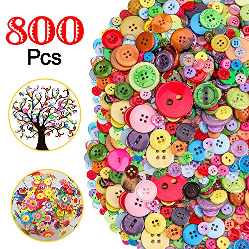 Mixed Buttons for Craft, 800pcs ...