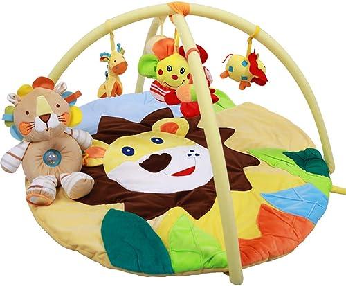 BP&S Tragbare Aktivit Babygymnastik, Neugeborene Kindermusik und Spieldecke Legen und Spielen Aktivit Spielzeug Mat and Kick Gym Geeignet für 0 bis 2 Jahre